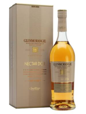 Glenmorangie Nectar D'or 12 éves - Sauternes (0,7 l, 46%)