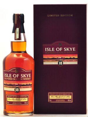 Isle of Skye 18 éves (0,7 l, 40%)