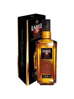 Label 5 Extra Premium 12 éves (0,7 l, 40%)