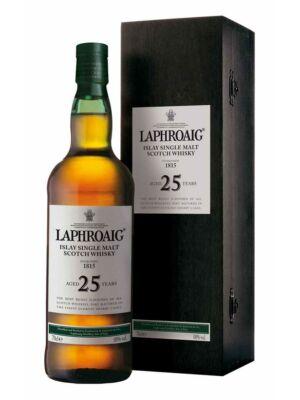 Laphroaig 25 éves (0,7 l, 45,1%)