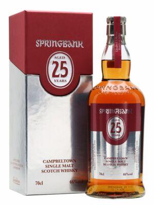 Springbank 25 éves (0,7 l, 46%)