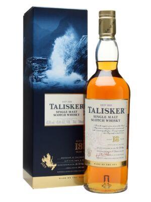 Talisker 18 éves (0,7 l, 45,8%)