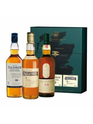 Classic Malts - Strong Giftset (3*0,2 l, 43%, 45,8%, 40%)