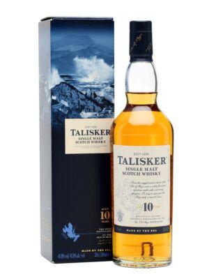 Talisker 10 éves (0,7 l, 45,8%)
