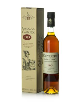Armagnac Castaréde 1963 (0,5 l, 40%)