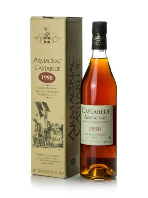 Armagnac Castaréde 1990 (0,7 l, 40%)