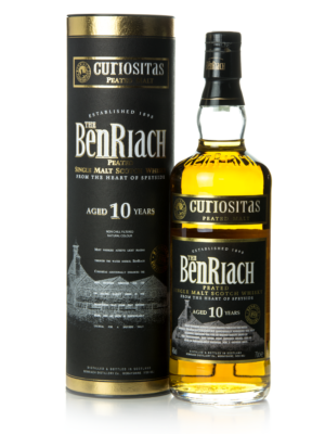 BenRiach Curiositas 10 éves (0,7 l, 46%)