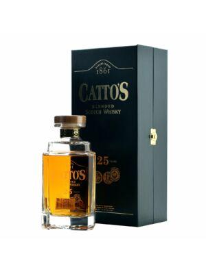 Catto's 25 éves üveg dekanterben (0,7 l, 40%)