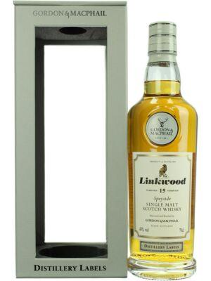 Linkwood 15 éves - Gordon&MacPhail (0,7 l, 43%)