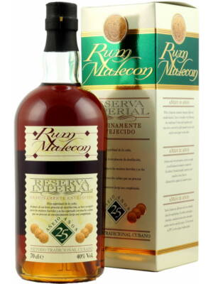 Rum Malecon 25 éves (0,7 l, 40%)