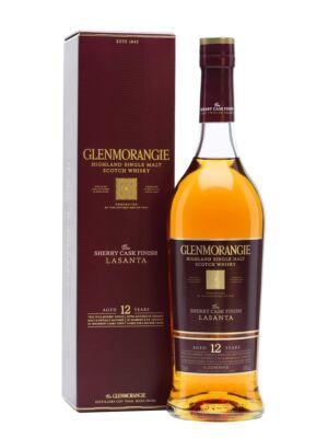 Glenmorangie Lasanta 12 éves Sherry (0,7 l, 43%)