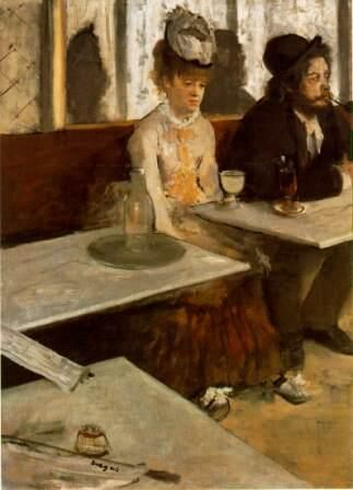 Edgar Degas: Abszint