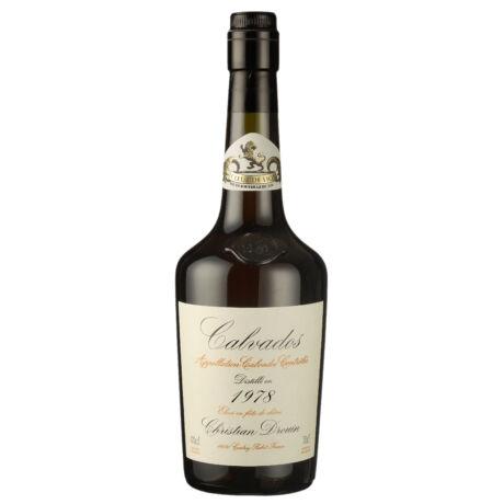 Calvados Christian Drouin 1978 fadobozban (0,7 l, 42%)