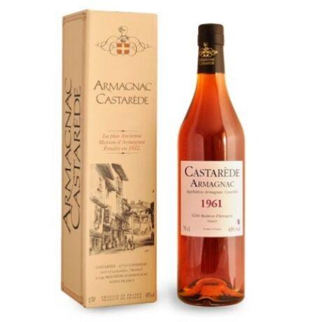 Armagnac Castaréde 1961 (0,5 l, 40%)