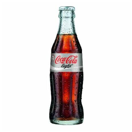 Coca-Cola Light üveges (0,25 l)