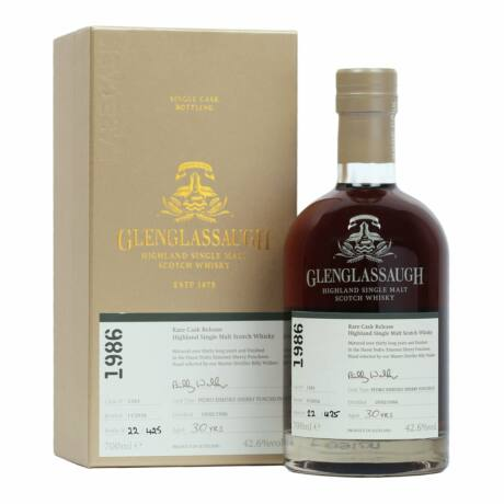 Glenglassaugh Batch 3. 30 éves 1986 (0,7 l, 42,6%)