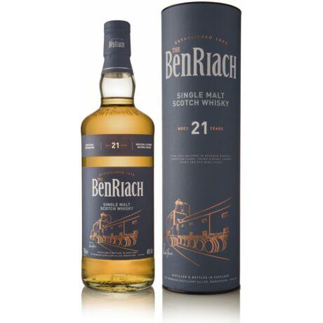 BenRiach 21 éves Four Oak Casks (0,7 l, 46%)