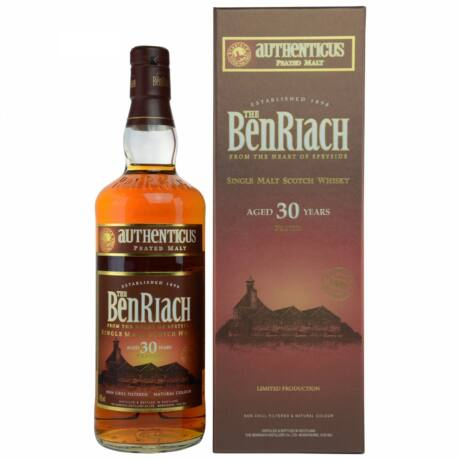 BenRiach Authenticus 30 éves (0,7 l, 46%)