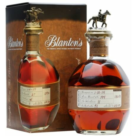 Blanton's Straight From The Barrel (0,7 l, 63,35%)
