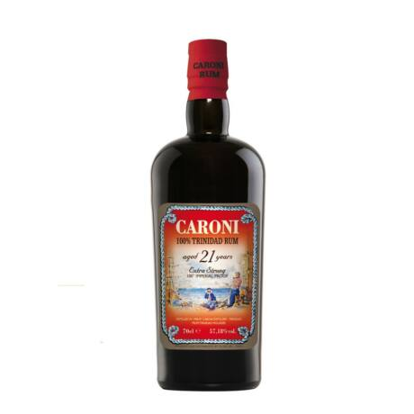 Rum Caroni 21 éves (0,7 l, 57,18%)