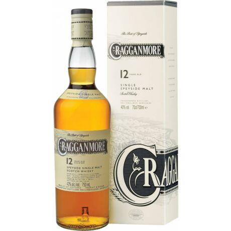 Cragganmore 12 éves (0,7 l, 40%)