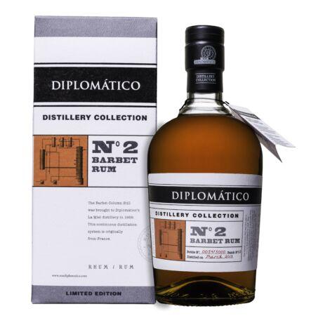 Rum Diplomatico TDC N°2 Single Barbet Column (0,7 l, 47%)