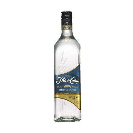 Rum Flor de Cana 4 év Extra Seco (0,7 l, 40%)