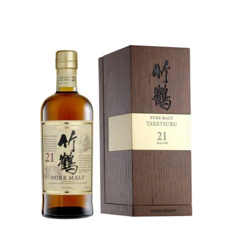 Nikka Taketsuru 21 éves (0,7 l, 43%)