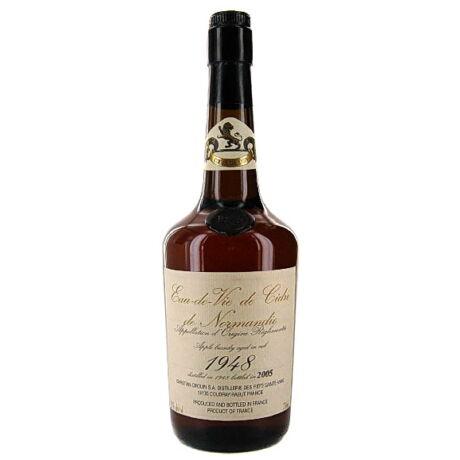 Calvados Christian Drouin Eau de vie de Cidre 1948 (0,7 l, 42%)