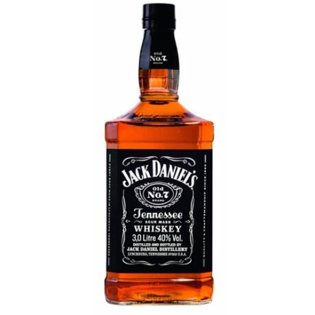 Jack Daniels Black Label (3,0 l, 40%)