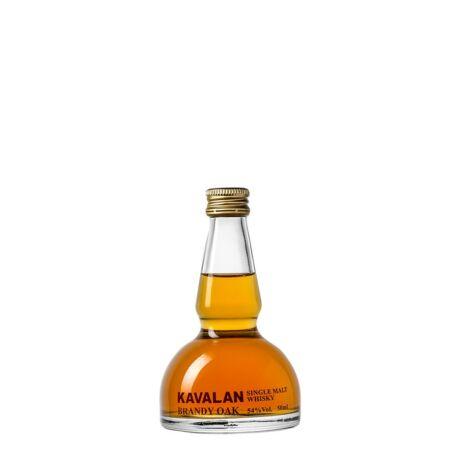 Kavalan Brandy Oak Alambic mini (0,05 l, 54%)