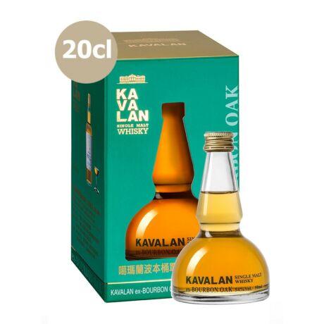 Kavalan Ex-Bourbon Oak Alambic (0,2 l, 54%)