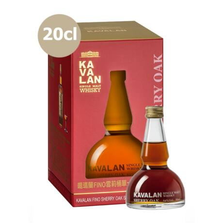 Kavalan Fino Sherry Oak (0,2 l, 54%)