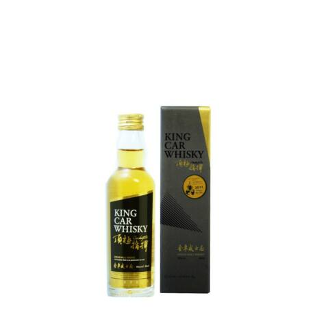Kavalan King Car whisky mini (0,05 l, 46%)