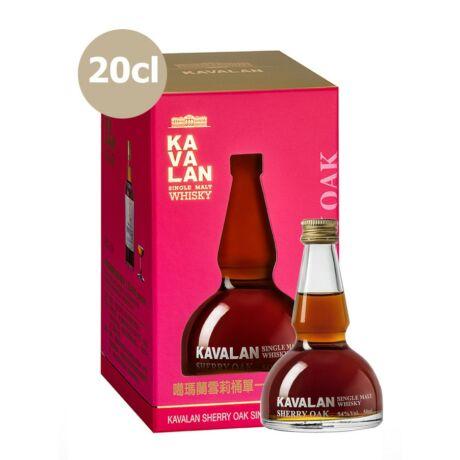 Kavalan Sherry Oak Alambic (0,2 l, 54%)