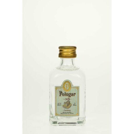 Vodka Polugar N.3 Caraway mini (0,05 l, 38,5%)