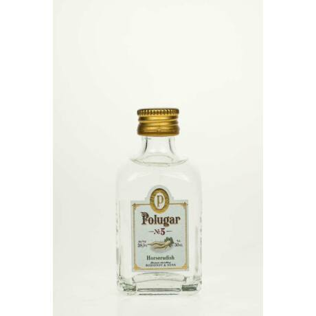 Vodka Polugar N.5 - Horseradish mini (0,05 l, 38,5%)