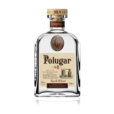 Vodka Polugar N.1 - Rye & Wheat (0,7 l, 38,5%)