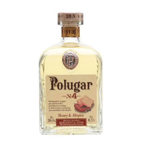 Vodka Polugar N.4 - Honey & Allspice (0,7 l, 38,5%)