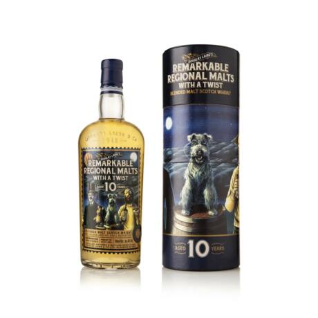 Remarkable Regional Malts 10 éves - With a Twist (0,7 l, 48%)