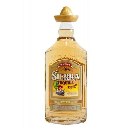 Tequila Sierra Reposado (0,7 l, 38%)