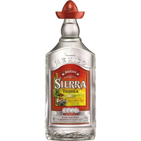 Tequila Sierra Silver (0,7 l, 38%)