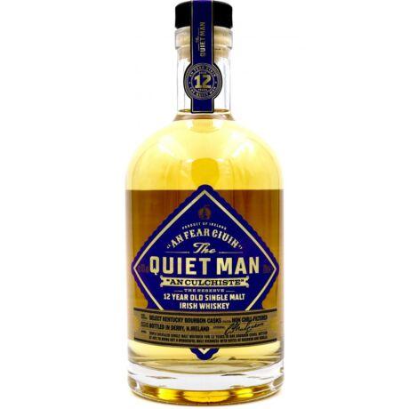 The Quiet Man Single Malt 12 éves (0,7L 40%)