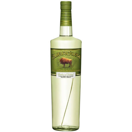Vodka Zubrowka Bison Grass (1 l, 37,5%)