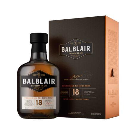 Balblair 18 éves