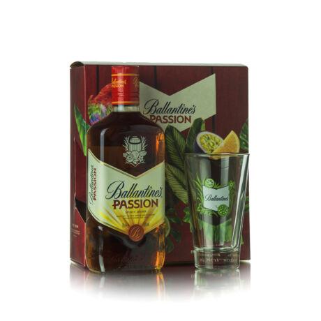 Ballatines's Passion és Long Drink pohár