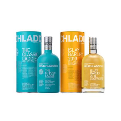 Bruichladdich Laddie Classic és Bruicladdich Islay Barley