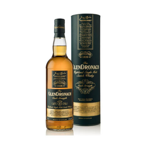 Glendronach Cask Strength Batch 8.