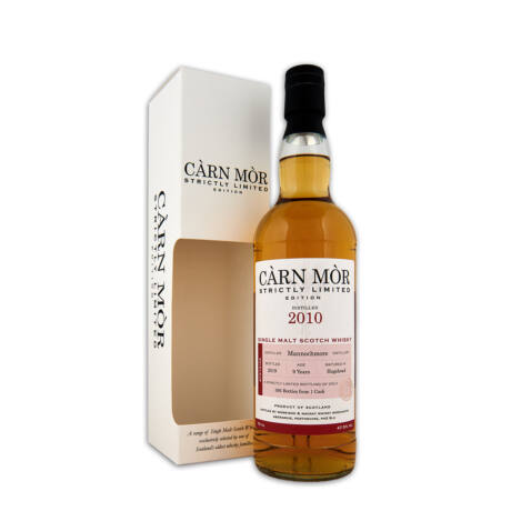 Mannochmore 2010, 9 éves Carn Mor Strictly Limited