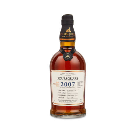Rum Foursquare 12 éves Cask Strength